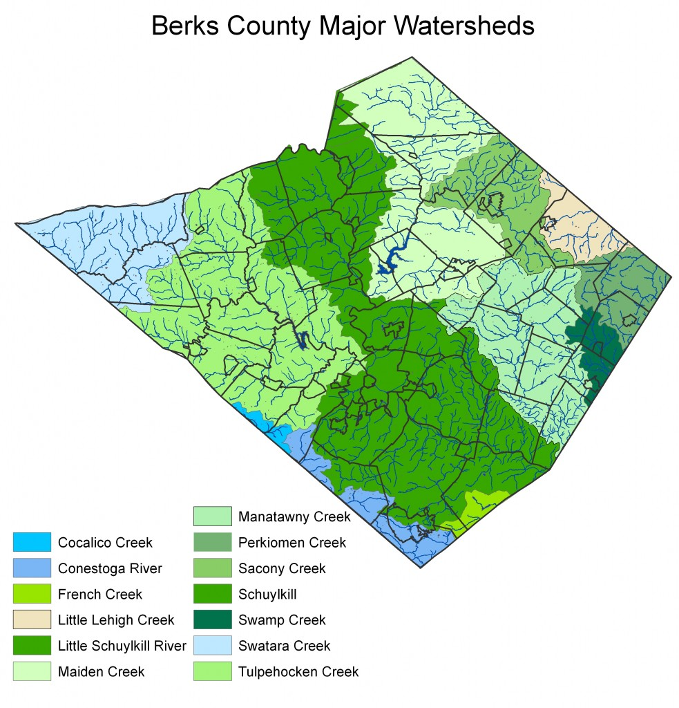 Berks Watersheds