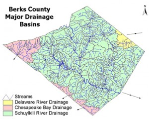 Berks County Major Drainage Basins