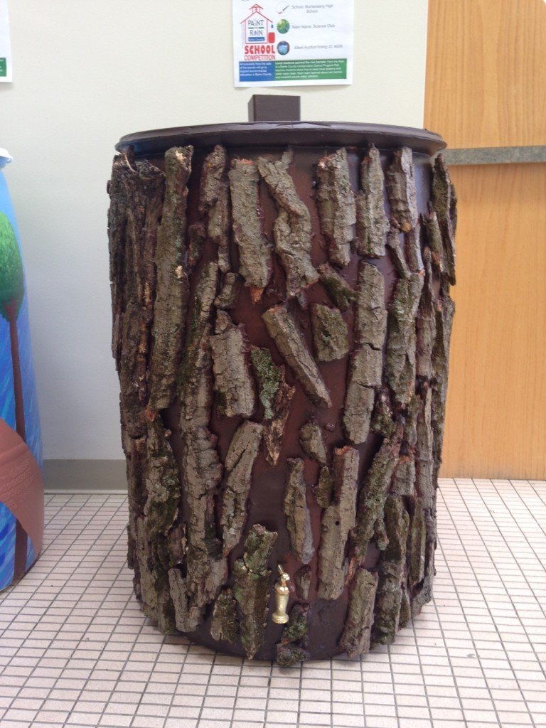 Muhlenberg High Science Club Barrel