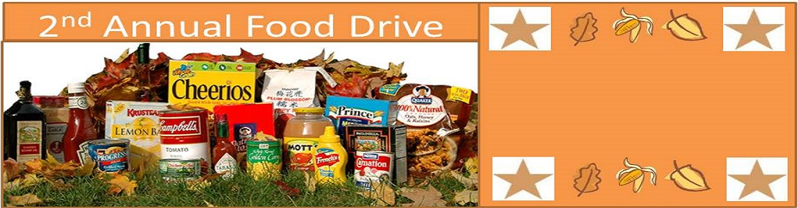 2nd Annual Food Drive