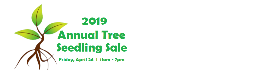 2019 ANNUAL SEEDLING SALE